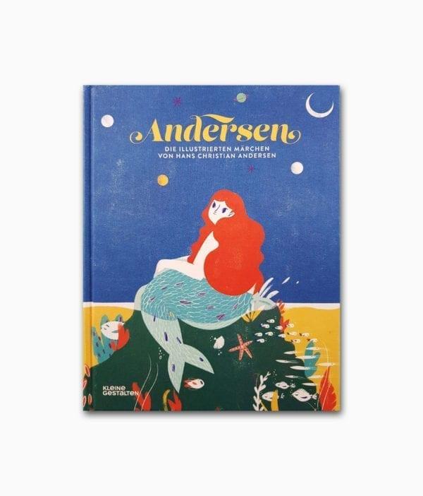 Cover des Märchenbuches mit dem Buchtitel Die illustrierten Märchen von H.C. Andersen aus der Buchreihe kleine des gestalten Verlags