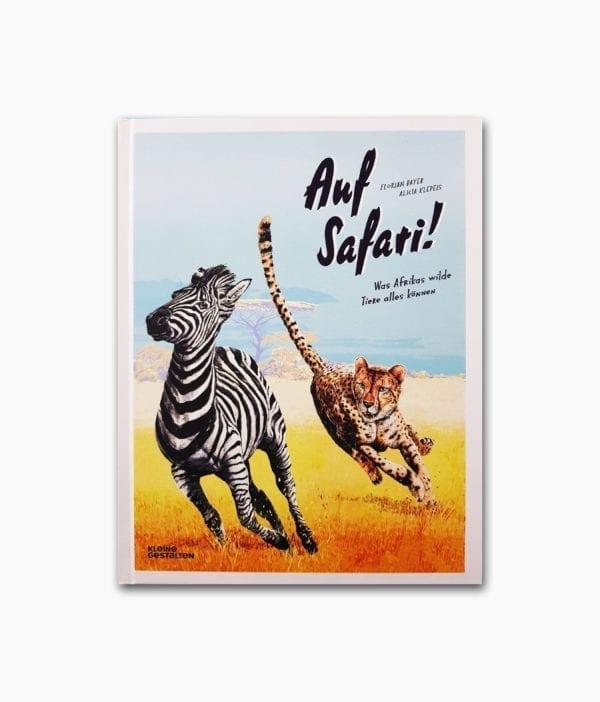 Auf Safari kleine gestalten Verlag Buchcover