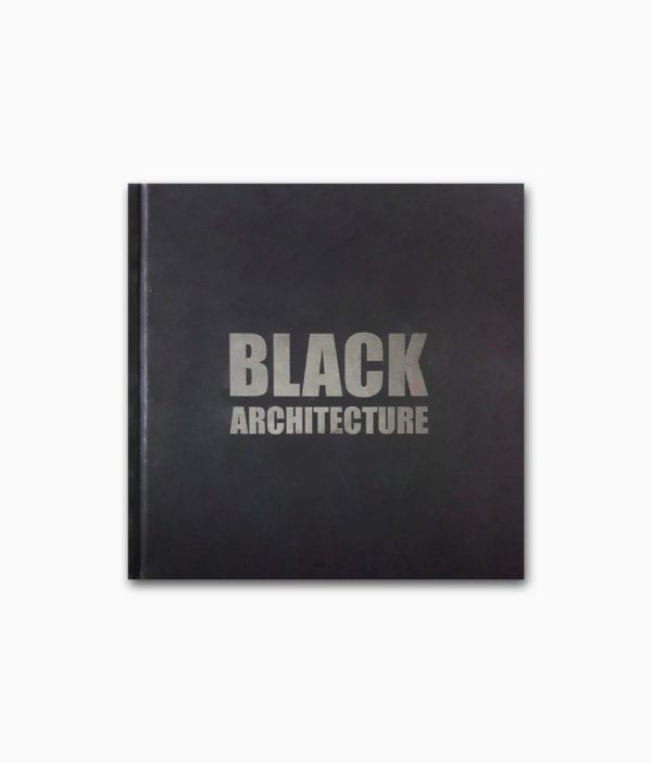 Black Architecture Braun Publishing Buchcover