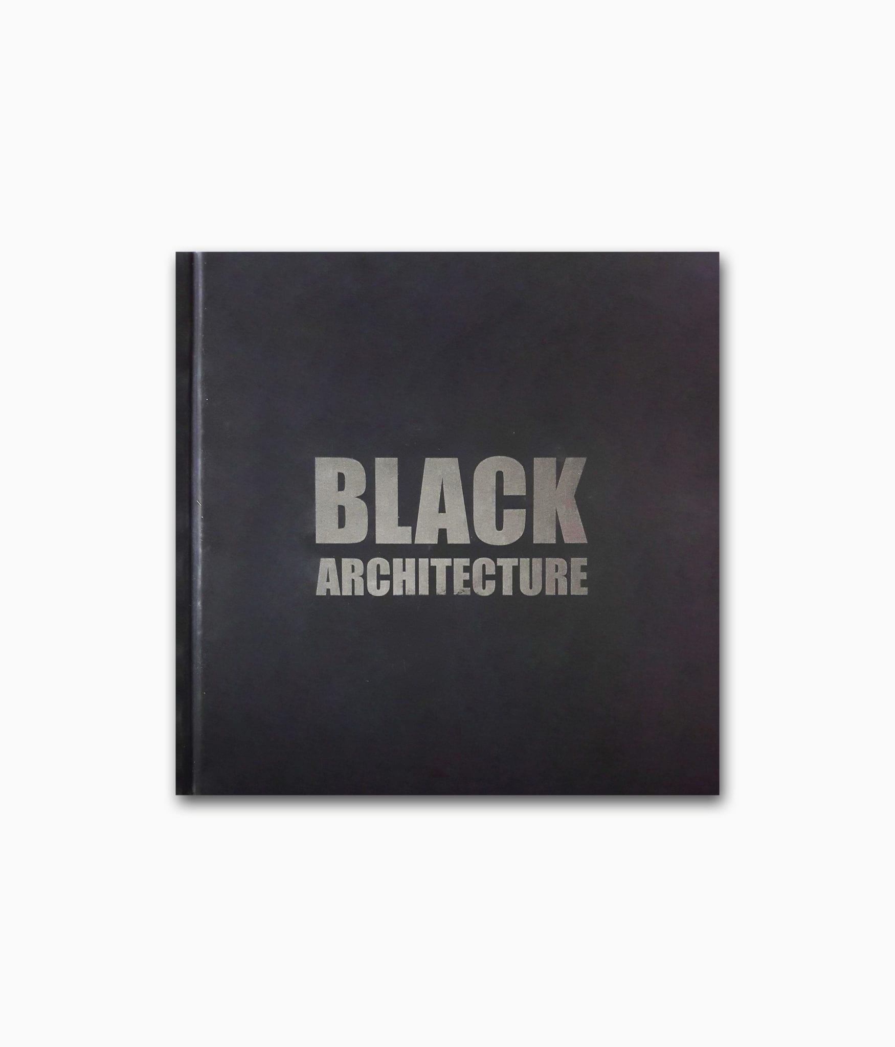 Black Architecture Braun Publishing Buchcover