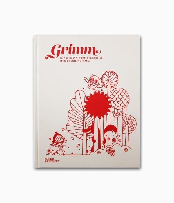 Cover des Märchenbuches namens Die illustrierten Märchen der Brüder Grimm aus der Kinderbuchreihe kleine gestalten