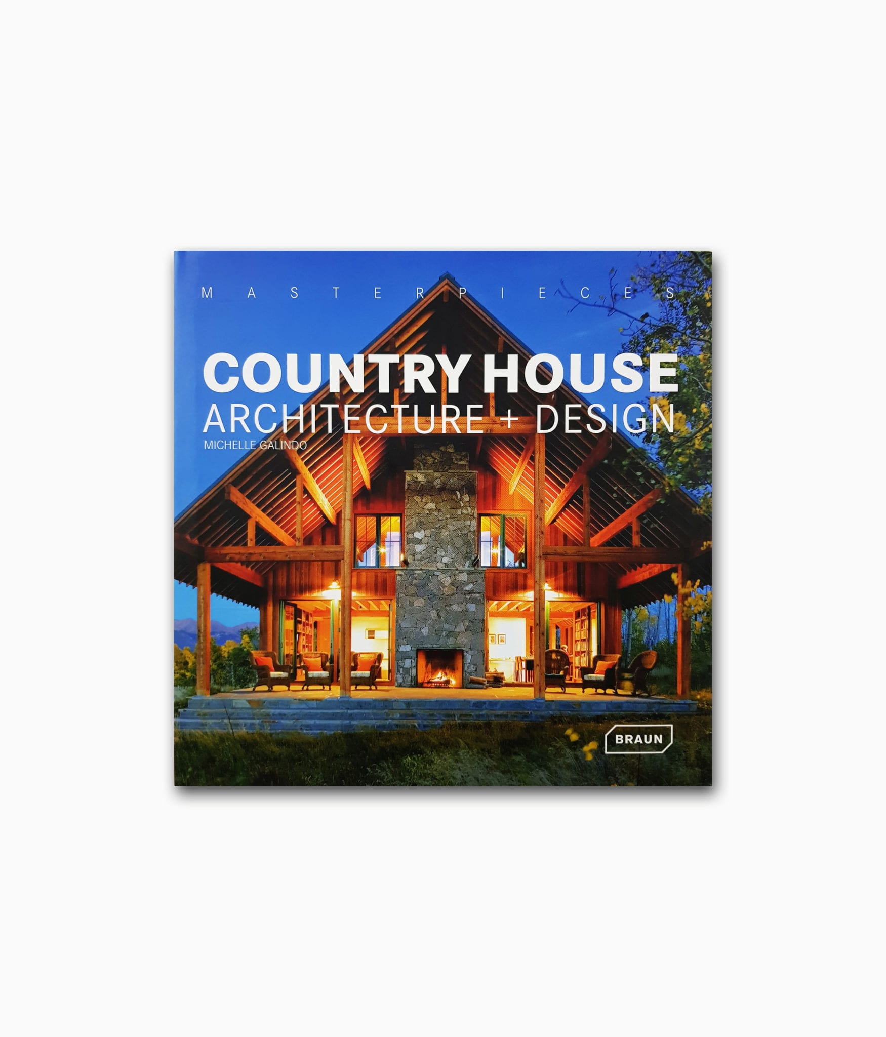 Country House Architecture Braun Publishing Buchcover