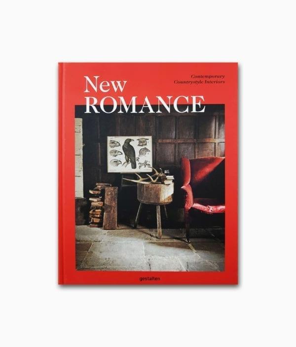 Cover des Interior Design Buch über Landleben namens New Romance gestalten Verlag