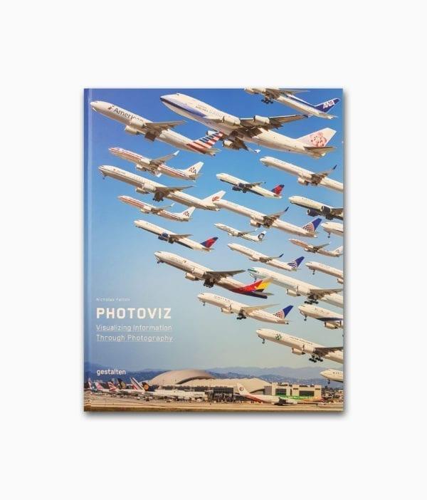 Cover des Fotografie Buches namens Photoviz gestalten Verlag