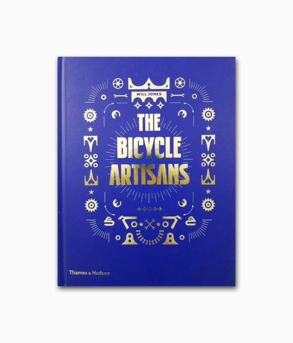 Cover des Lifestyle Buches zum Thema Fahrrad namens The Bicycle Artisans Thames & Hudson Verlag Buchcover