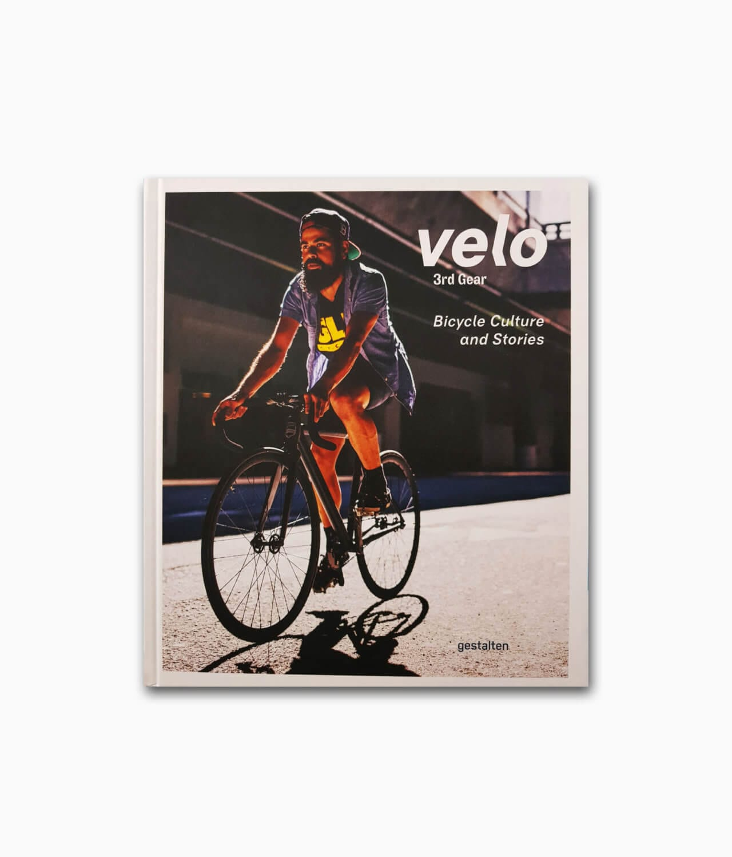 Cover des Fahrrad Buches namens Velo 3rd Gear aus dem gestalten Verlag