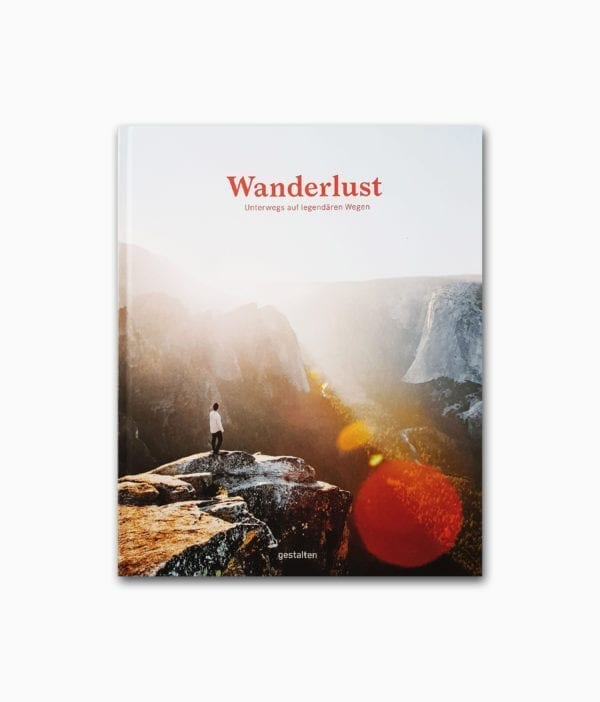 Wanderlust gestalten Verlag Buchcover