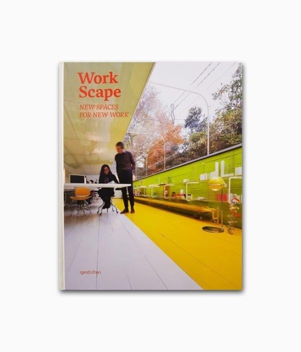 Cover des Interior Design Buches namens Work Scape aus dem gestalten Verlag
