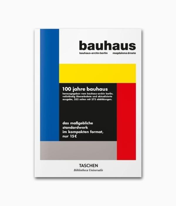 Cover vom Architekturbuch über das Bauhaus vom TASCHEN Verlag