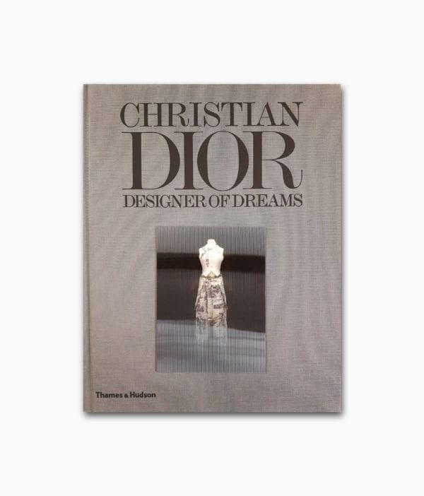 Cover eines Buches über den Mode Designer Christian Dior erschienen im Thames&Hudson Verlag