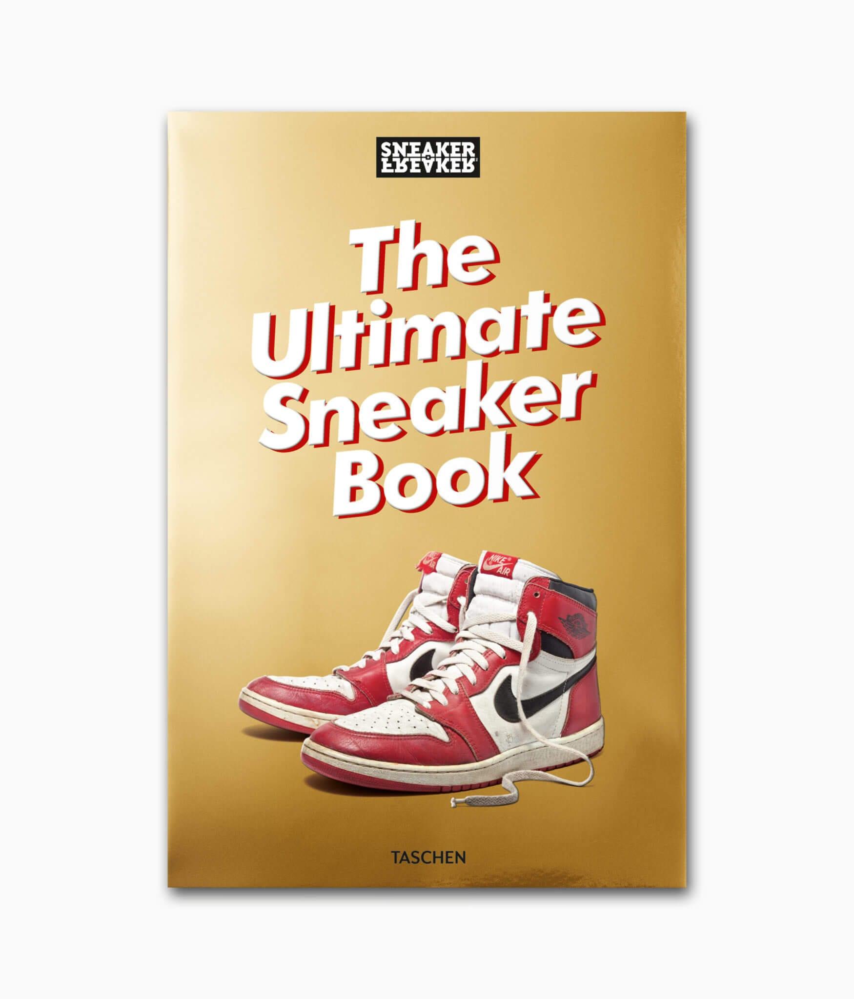 Cover von dem Bildband Sneaker Freaker erschienen im TASCHEN Verlag