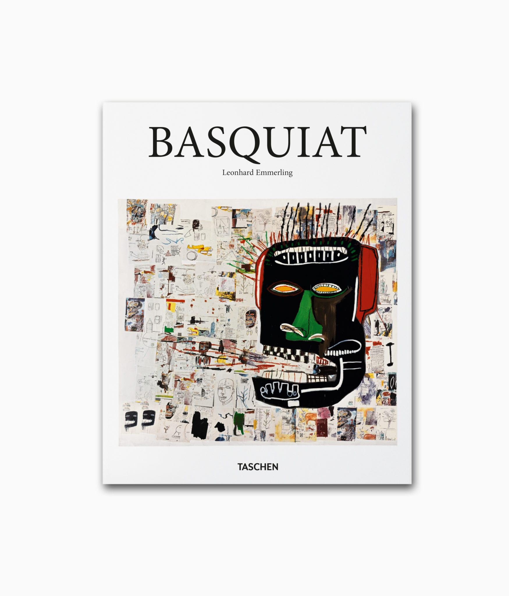 Cover vom Kunstbuch über den berühmten Street Art Künstler Jean-Michel Basquiat erschienen in der kleinen Reihe des TASCHEN Verlags