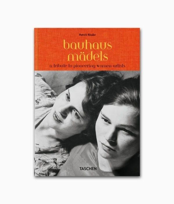 Buch mit dem Namen Bauhausmädels erschienen im TASCHEN Verlag