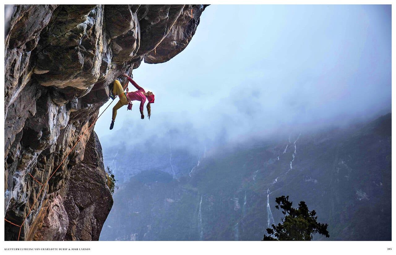 Abenteuer Fotografie mit Berg aus dem Natur Buch Cliffhanger die neue Lust am Klettern aus dem gestalten Verlag