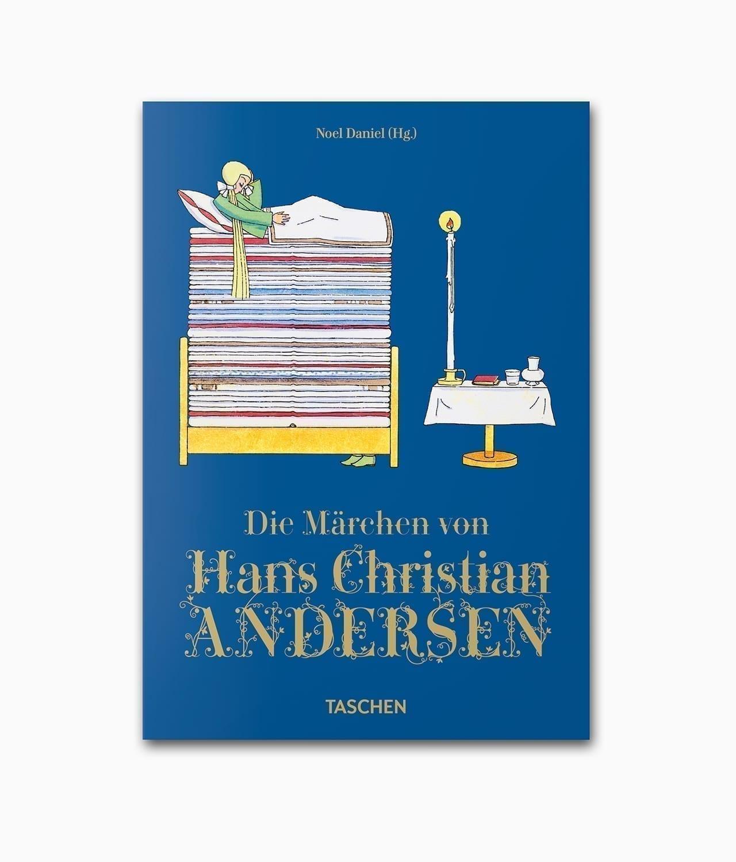 Cover von dem Märchenbuch mit dem Namen Die Märchen von Hans Christian Andersen erschienen im TASCHEN Verlag