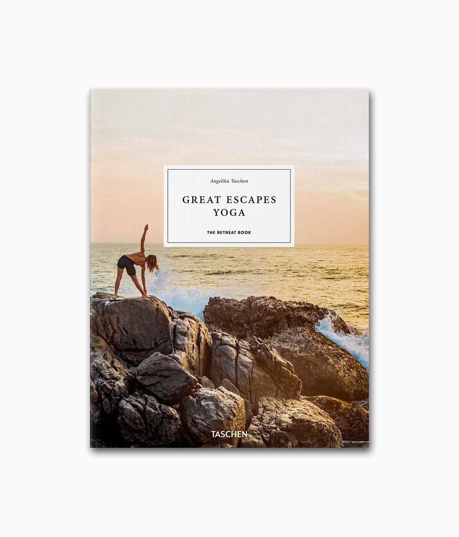 Cover vom Lifestyle Buch Great Escapes Yoga vom TASCHEN Verlag