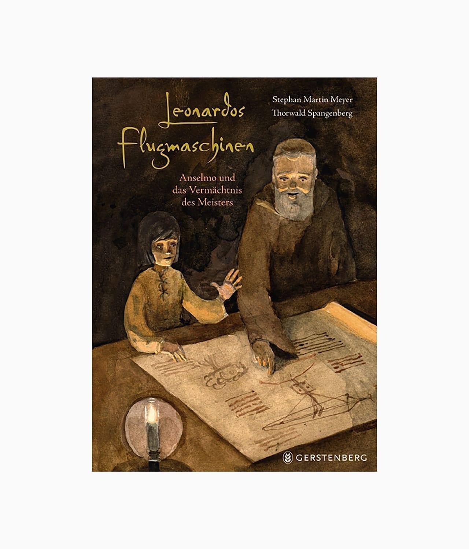 Leonardos Flugmaschinen Gerstenberg Verlag Cover