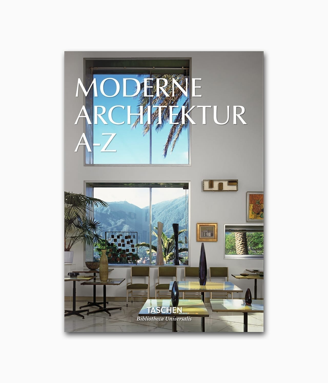 Moderne Architektur A_Z TASCHEN Verlag Buchcover