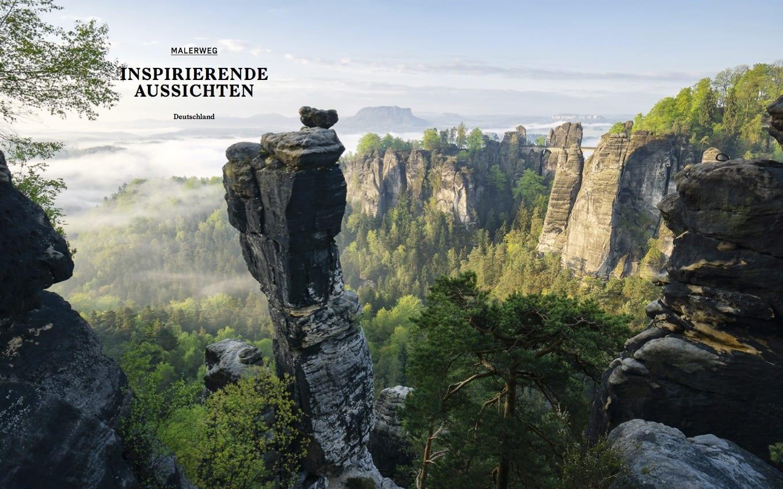 Bild aus dem Abenteuer und Natur Bildband names Wanderlust aus dem gestalten Verlag