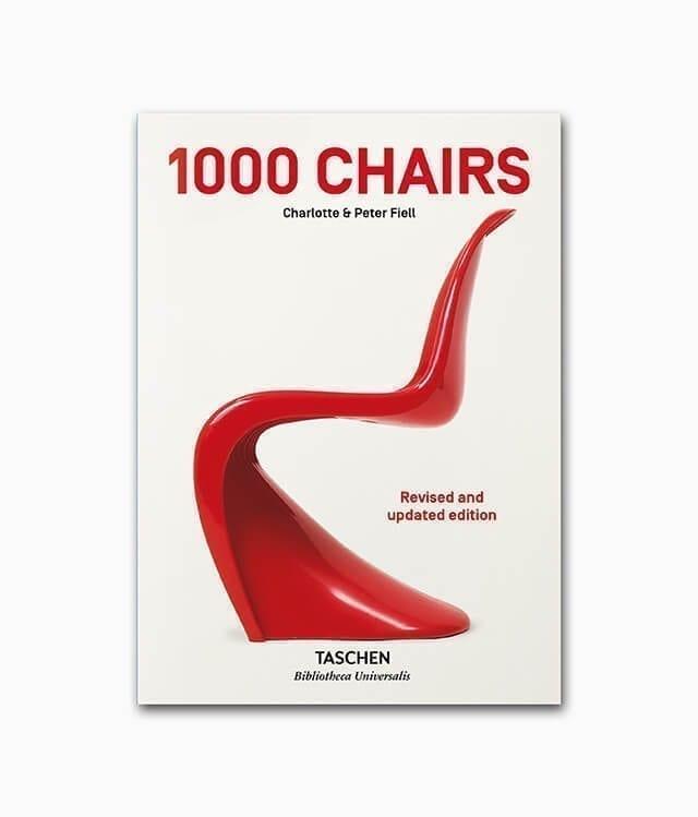 1000 Chairs TASCHEN Bibliotheca Universalis Buchcover