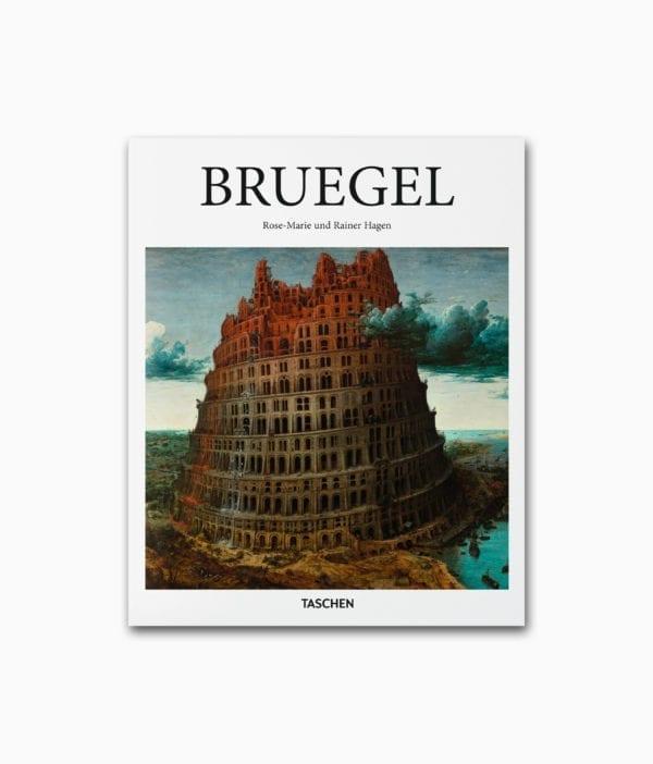Cover des Buches über den berühmten Künstlers Pieter Bruegel namens Bruegel aus der kleinen Reihe des´TASCHEN Verlags