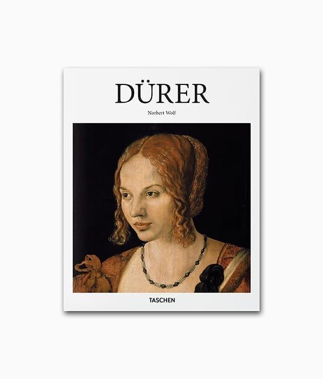 Cover des Kunstbuches über Albrecht Dürer mit dem Titel Düreraus der Buchreihe kleine Reihe des TASCHEN Verlags