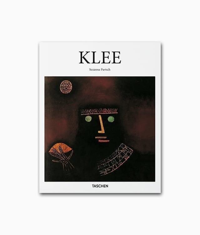 Cover des Kunstbuches über den deutschen Künstler Paul Klee mit dem Buchtitel Klee erschienen in der kleinen Reihe des TASCHEN Verlags
