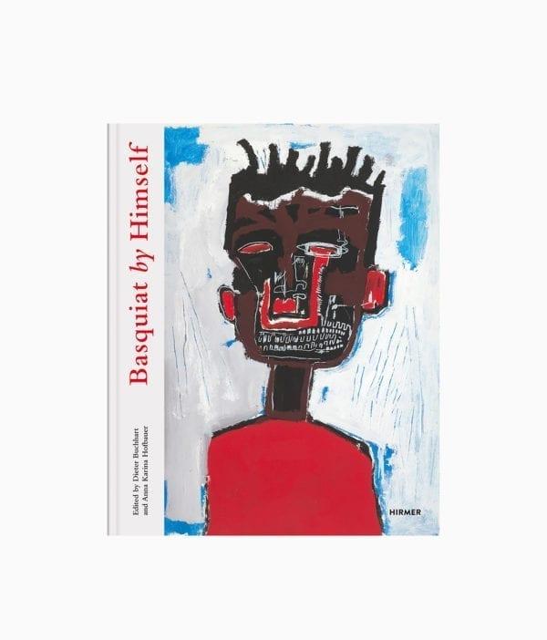 Cover des Kunstbuches über den Street Art Künstler Jean-Michel Basquiat mit dem Buchtitel Basquiat by Himself erschienen Hirmer Verlag