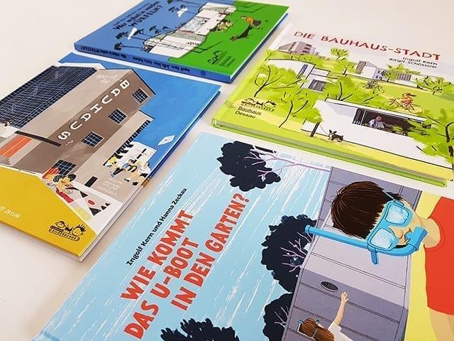 Kinderbücher und Bilderbücher über die Bauhaus Architektur
