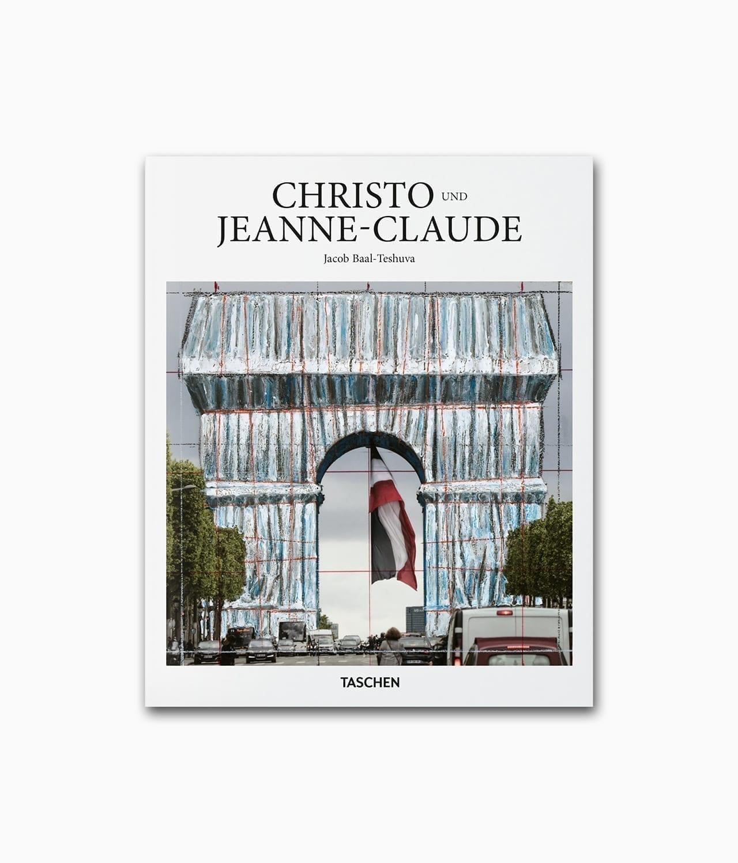 Cover vom Kunstbuch über die berühmten Künstler Christo & Jeanne-Claude aus der kleinen Reihe vom TASCHEN Verlag