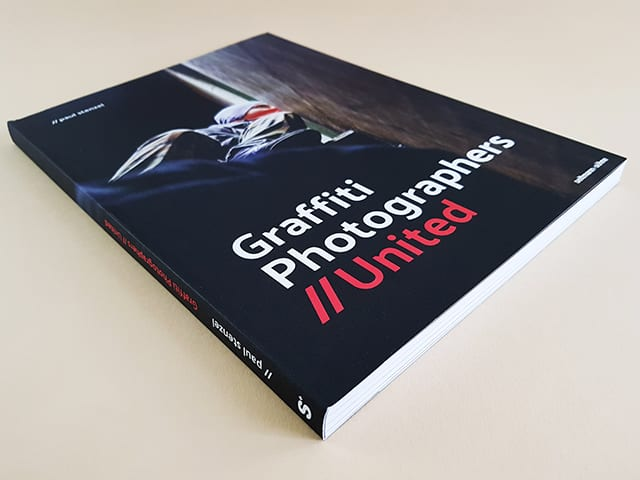 Graffiti Photographers United seltmann+söhne Verlag Graffiti und Street Art Buchcover liegend