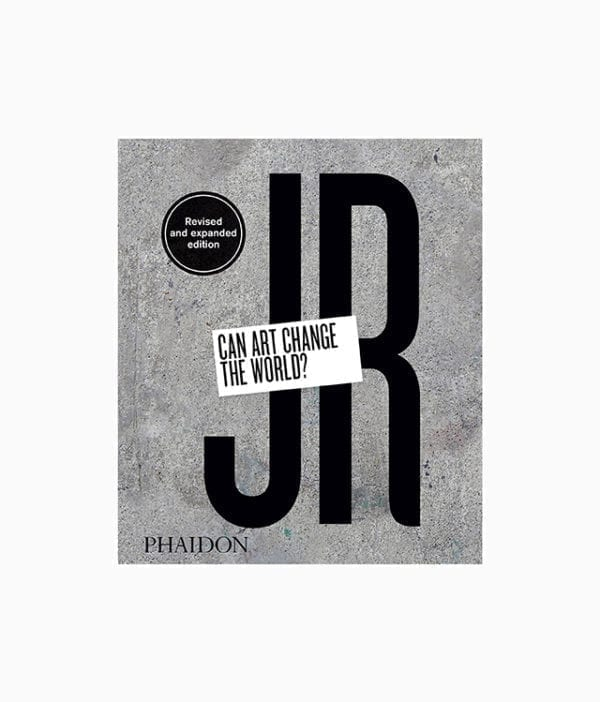 Cover vom Kunstbuch über den Graffiti und Street Art Künstler JR Cavom Phaidon Verlag