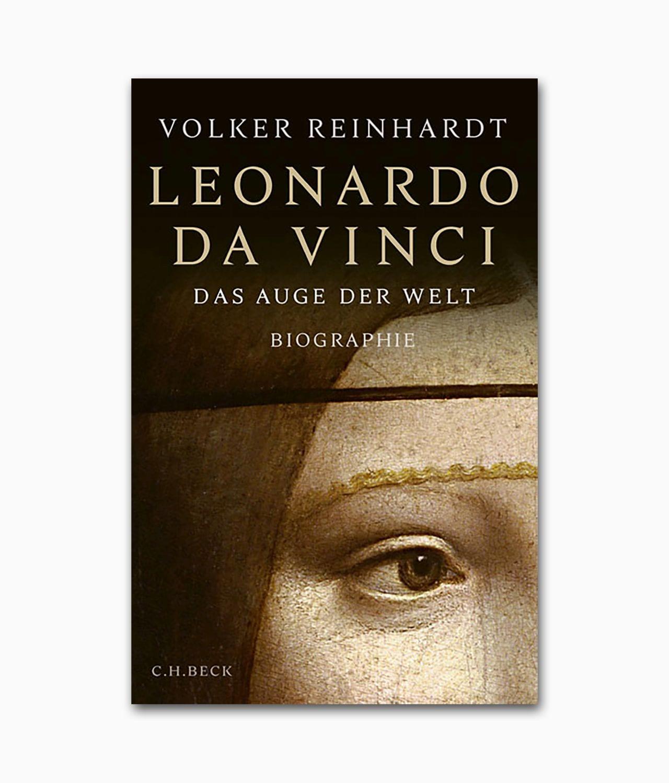 Cover der Künstlerbiografie Leonardo da Vinci Das Auge der Welt erschienen im C.H.Beck Verlag