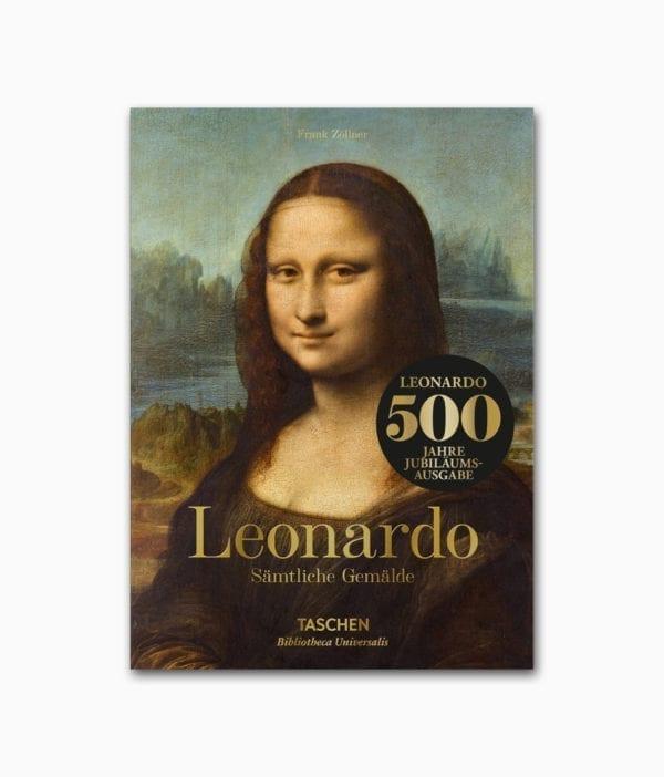 Leonardo da Vinci Sämtliche Gemälde TASCHEN Verlag Cover
