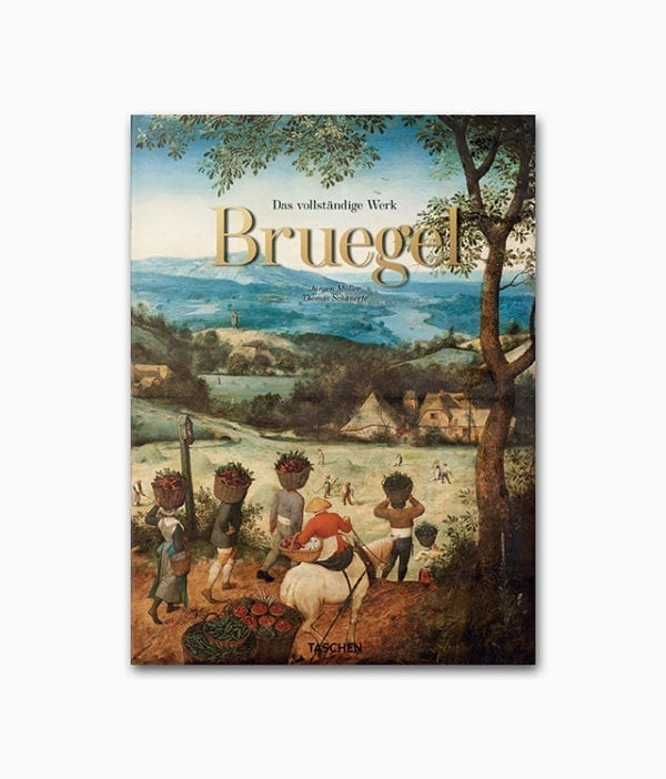 Cover des Bruegel Bildbands mit dem Titel Pieter Bruegel Das vollständige Werk des TASCHEN Verlags