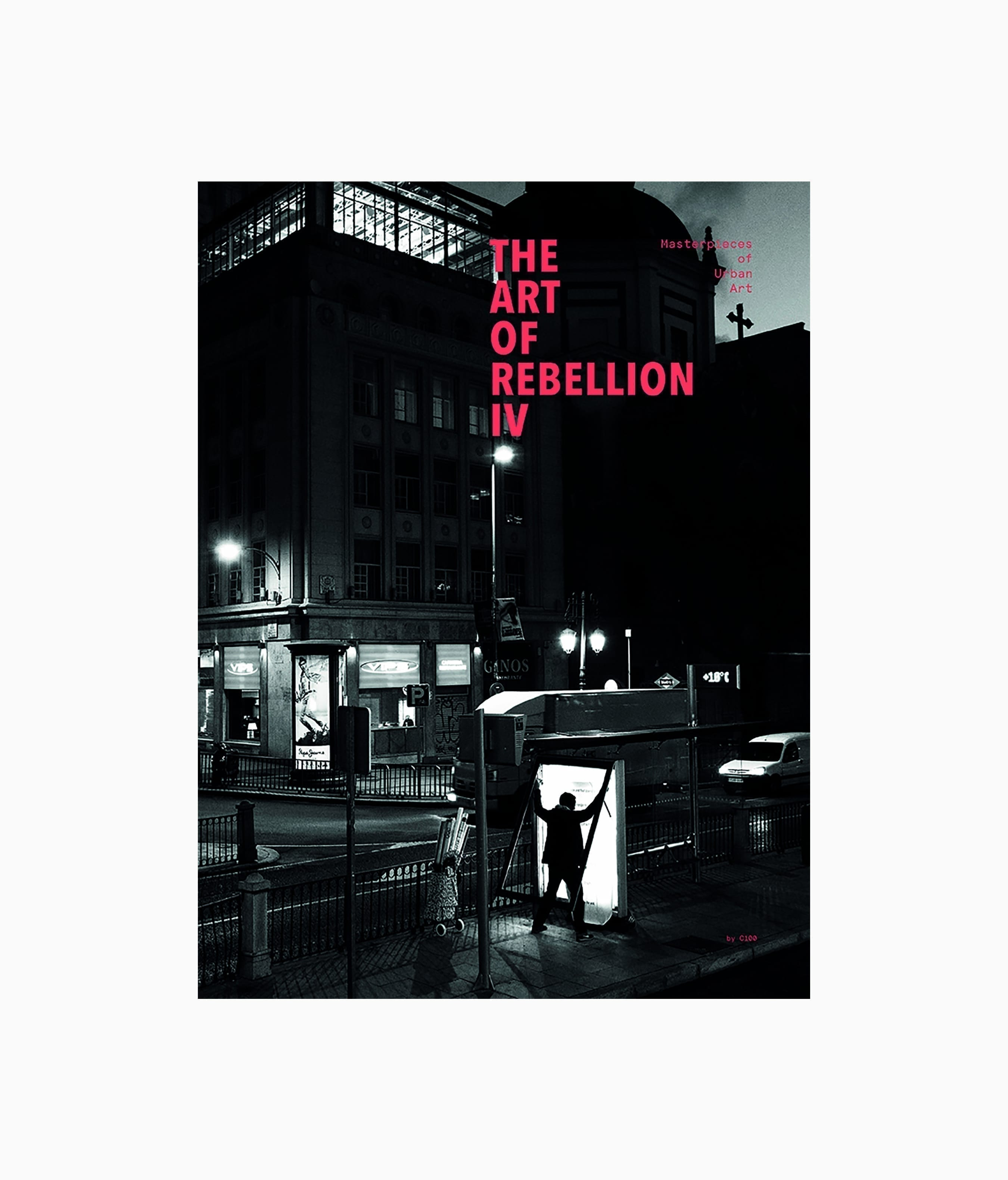 The Art of Rebellion #4 Publikat Verlag Graffiti und Street Art Buchcover