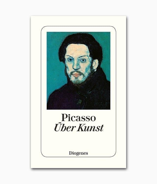 Über Kunst Aus Gesprächen zwischen Picasso und seinen Freunden Diogenes Verlag Buchcover