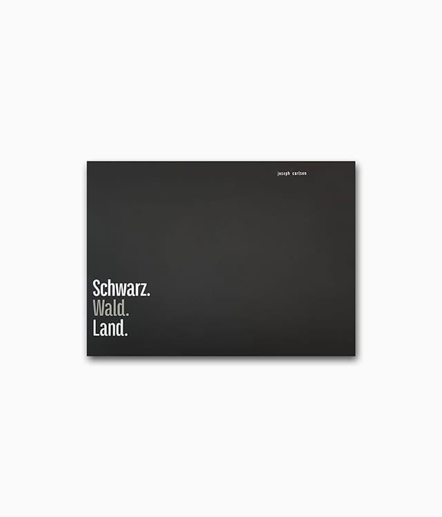 Schwarz Wald Land Buchcover