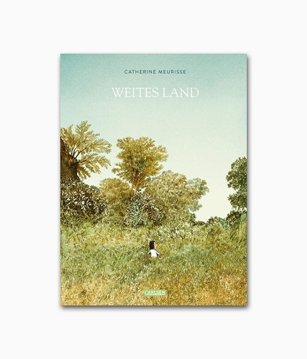Cover des Natur Buches mit dem Buchtitel Weites Land erschienen im Carlsen Verlag zum Thema Landleben