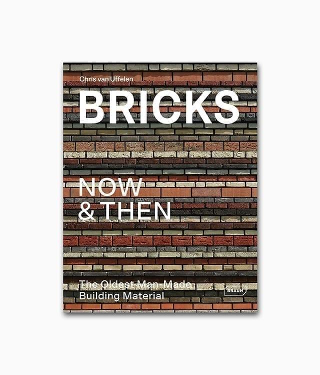 Buchcover des Bildbandes mit dem Buchtitel Bricks Now & Then von Braun Publishing