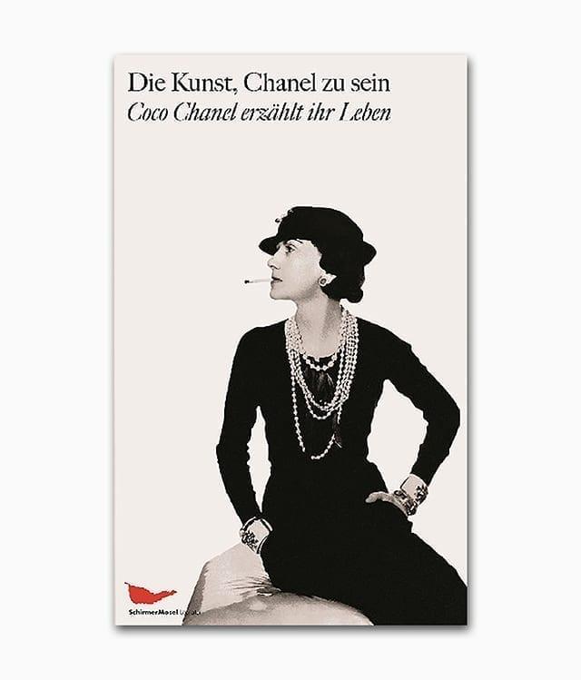 Cover des Buches über die Mode Designerin Coco Chanel erschienen im Schirmer Mosel Verlag