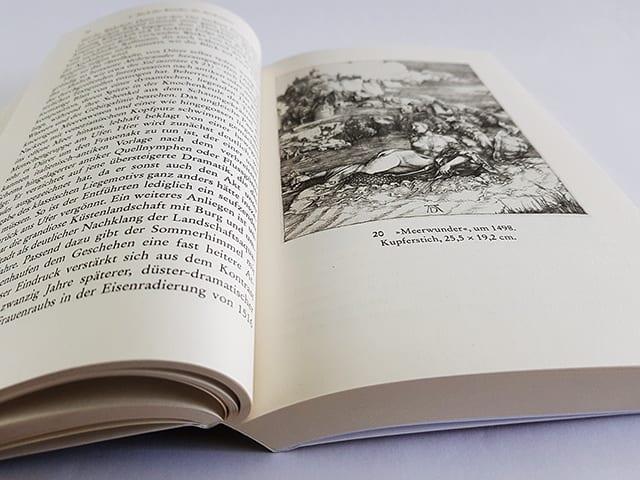 Thomas Schauerte Dürer Das ferne Genie Eine Biographie Reclam Verlag Doppelseite Innenansicht