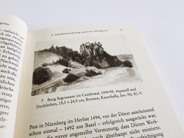 Thomas Schauerte Dürer Das ferne Genie Eine Biographie Reclam Verlag Seite Innenansicht