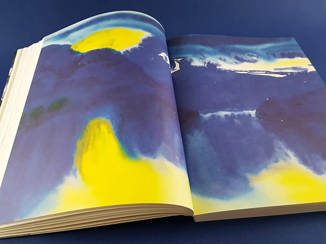 Große Realistik & Große Abstraktion Zeichnungen von Max Beckmann bis Gerhard Richter Kerber Verlag Doppelseite Innenansicht