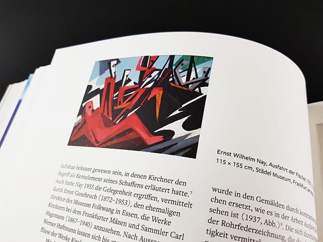 Große Realistik & Große Abstraktion Zeichnungen von Max Beckmann bis Gerhard Richter Kerber Verlag Seite Innenansicht