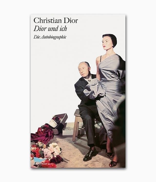 Cover eines Buches über den Mode Designer Christian Dior erschienen im Schirmer Mosel Verlag