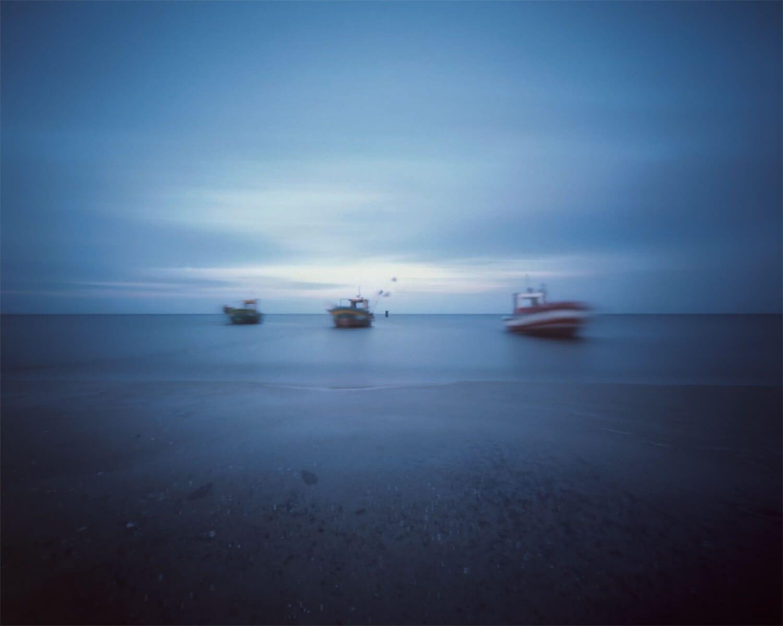 Lange Zeit Lichtbilder der baltischen See Seltmann Soehne Innenansicht vom Meer