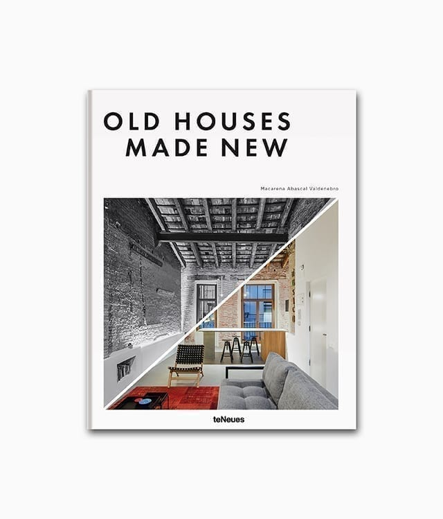 Cover des Interior Design Buches namens Old Houses Made New aus dem teNeues Verlag