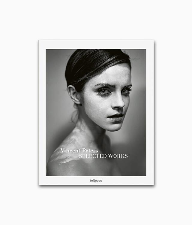 Cover eines Buches über den berühmten Fotografen Vincent Peters vom teNeues Verlag