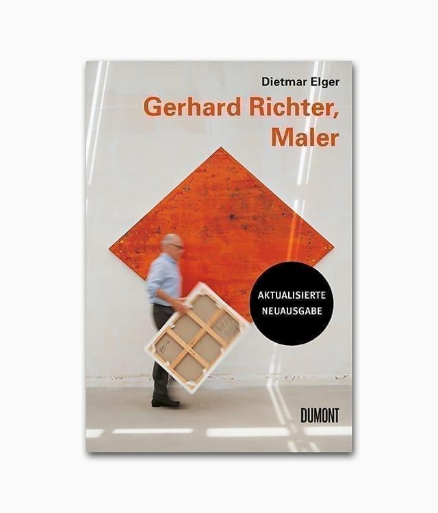 Kunstbuchcover des Bildbands Gerhard Richter Maler erschienen im DuMont Verlag